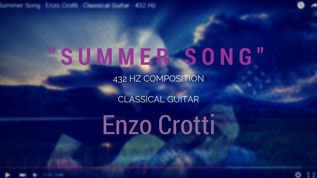 Summer Song di Enzo Crotti