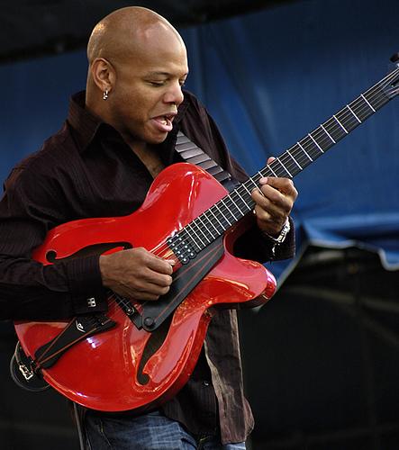 Foto: chitarrista jazz