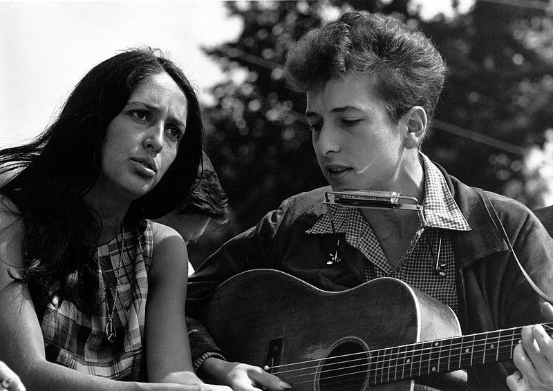 Joan Baez e Bob Dylan