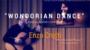 wondorian dance - chitarra classica - tab