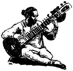 raga Hamsadhwani chitarra