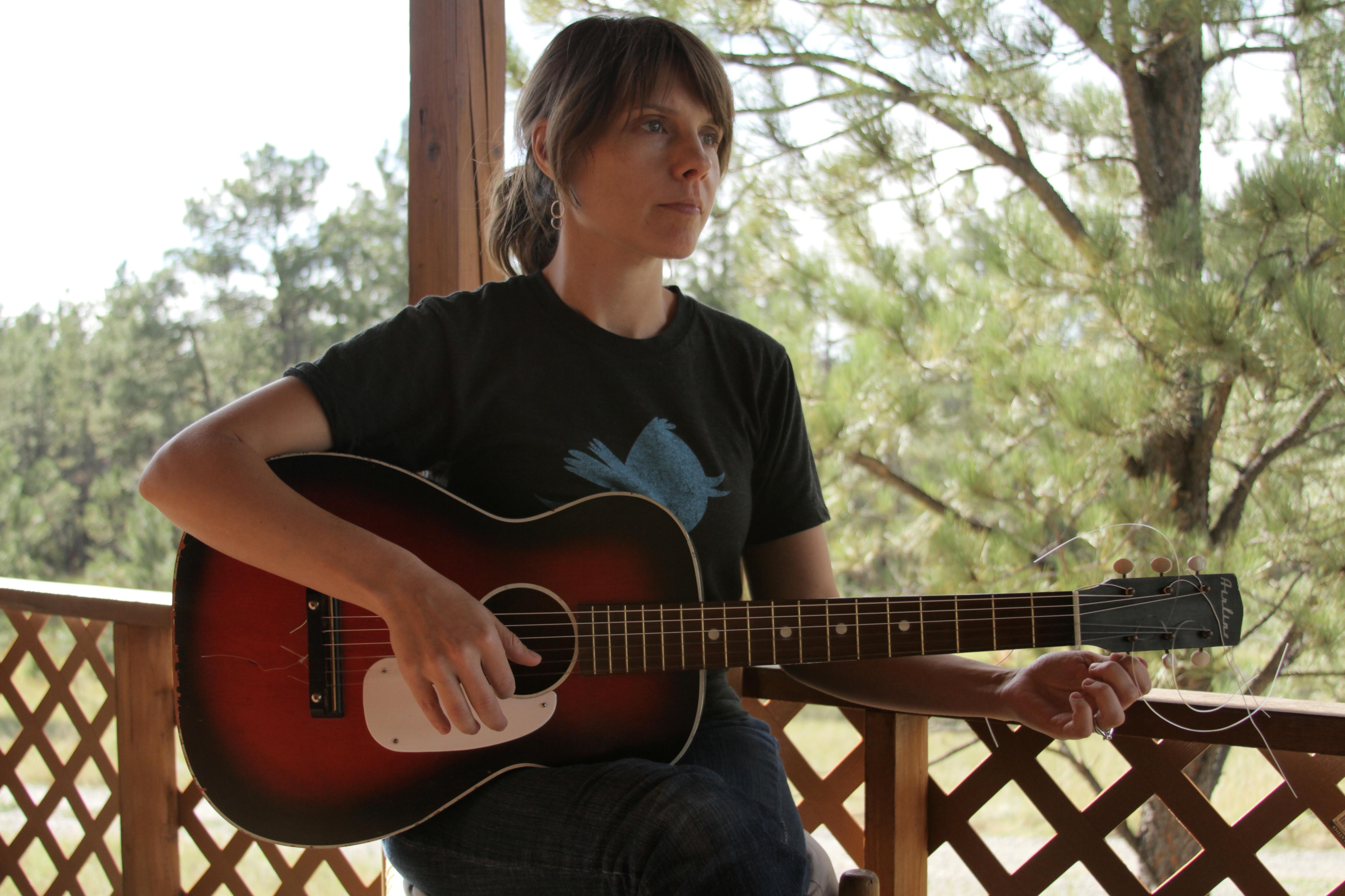 chitarra acustica folk parlor