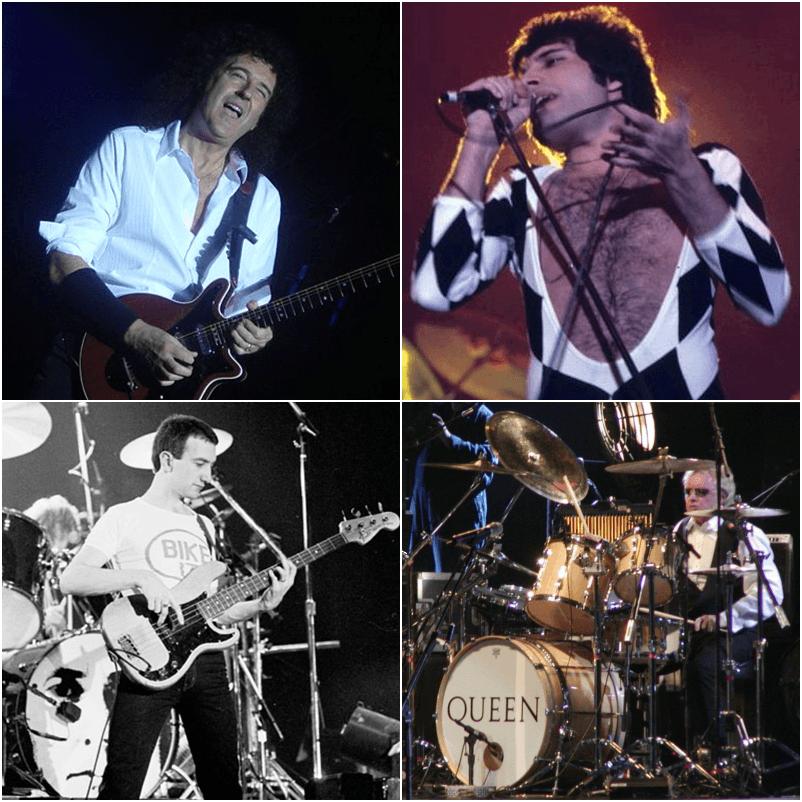 Il gruppo rock Queen