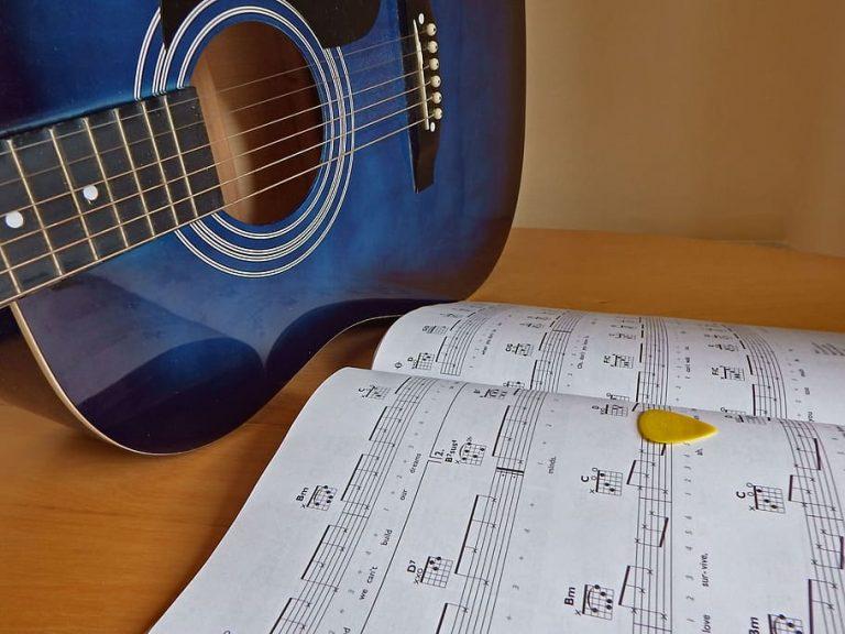 studio della chitarra