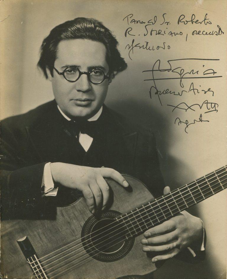 Andres_Segovia chitarra