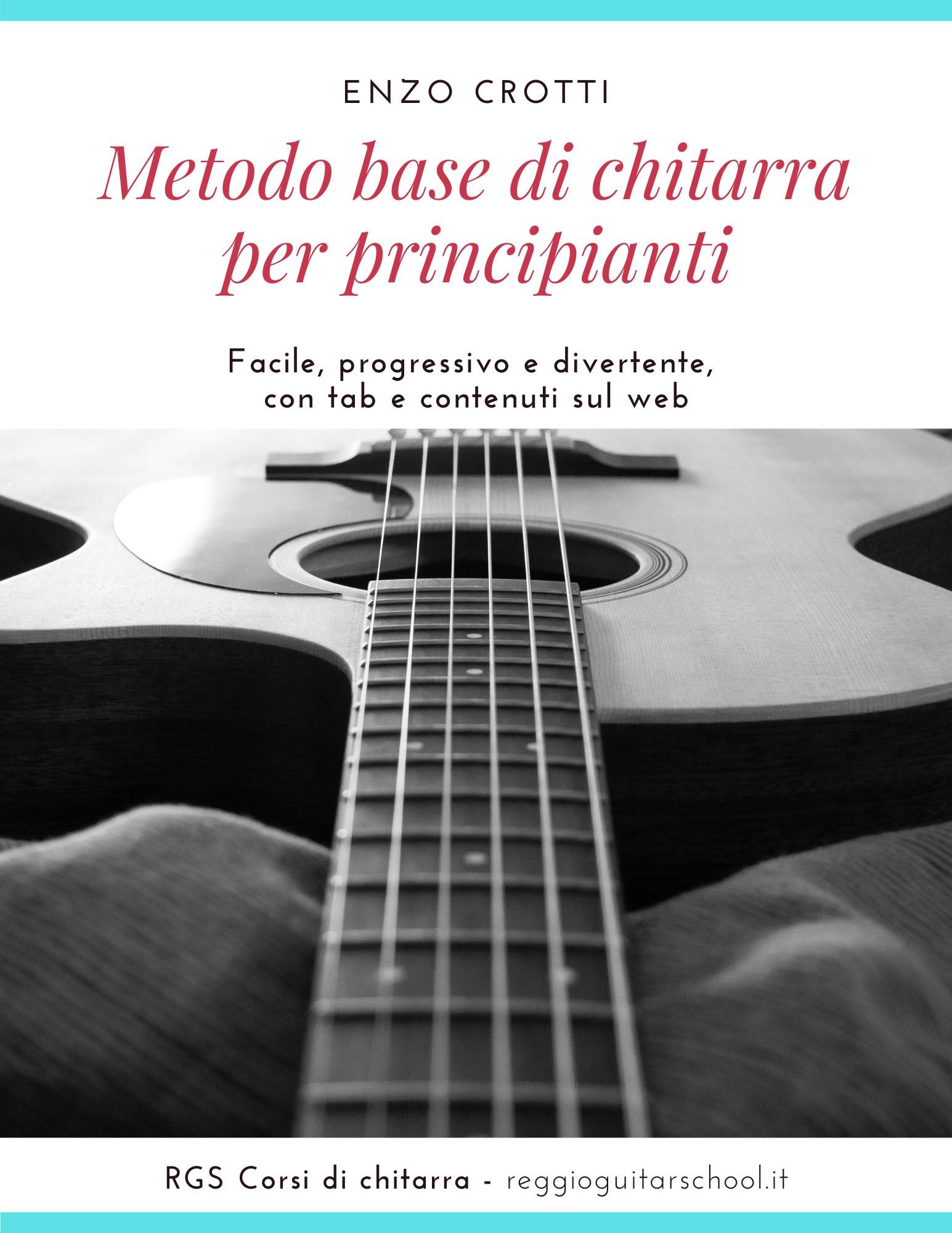 cover metodo base di chitarra
