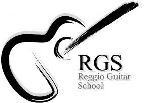 logo scuola di chitarra rgs